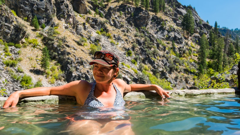 Barth hot Springs main salmon river trips