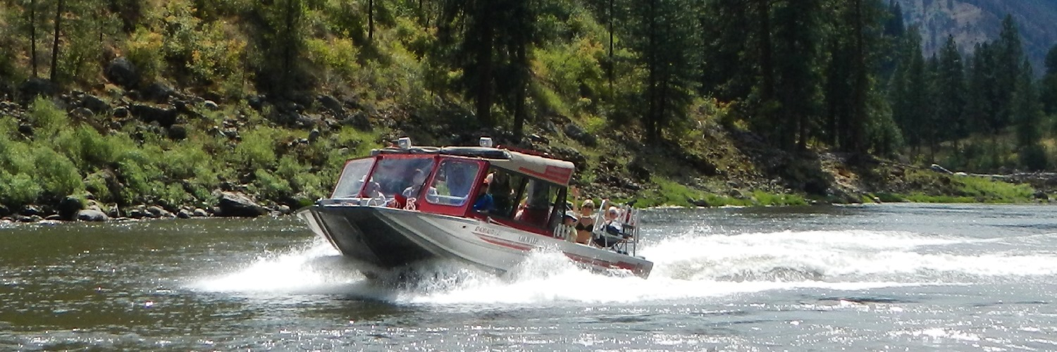 Main Salmon River Jet Boat Tours