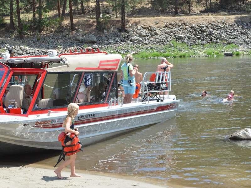 Idaho Wilderness Lodge Jet Boat Tours Steelhead Fishing Trips